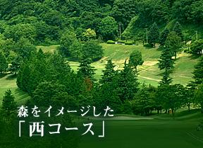 森をイメージした 西コース